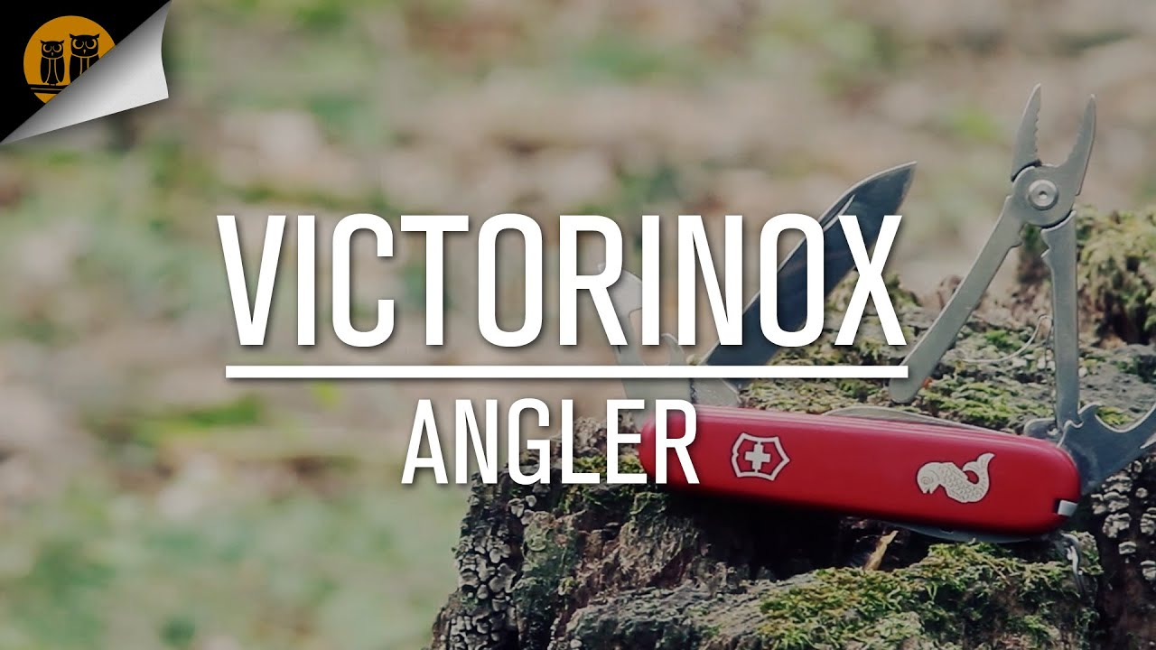 Victorinox Angler Swiss Army Knife Field Review Youtube