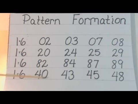 2- DIGITS PATTERN FORMATION / LOTTERY DETECTIVE 153 - YouTube