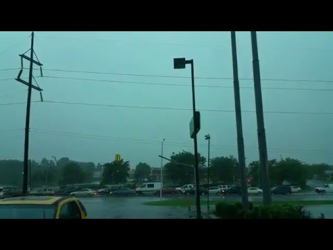USA Traffic Time lapse In Raining Time | Windy Raining Time lapse In Lexington Kentucky