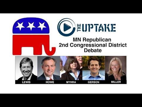 MN CD2 GOP Debate - Jan 21, 2016 - Full Debate