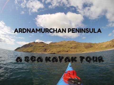 Ardnamurchan Peninula sea kayaking tour + dry caves.