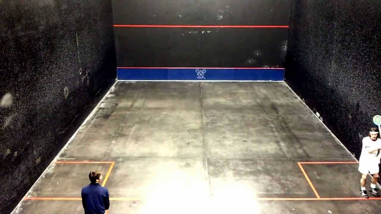 Rackets at Detroit Racquet Club - YouTube