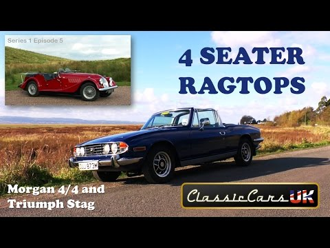 Classic Cars UK Season 1 Episode 5: Four seater ragtops