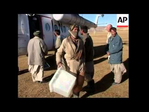 UN Flies Voting Materials To Remote Settlements