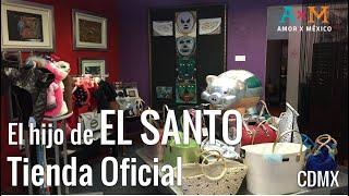 """EL SANTO; Gran luchador y aquí su tienda """"El Hijo del Santo"""" en La Condesa - PERISCOPE"""