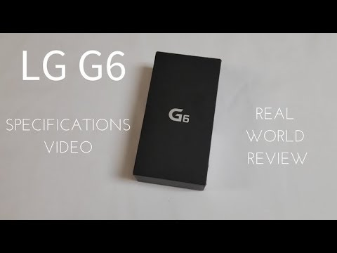 LG G6 Specs (Real World Review)