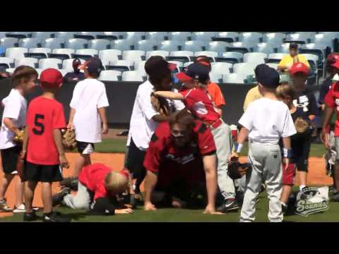 2011 Chevy Youth Baseball Clinic At Greer
