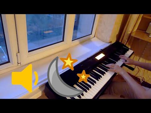 Silent Night piano + MIDI file