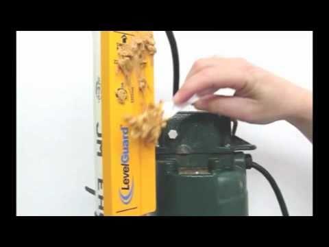 Levelguard Electronic Sump Pump Switch Peanut Butter