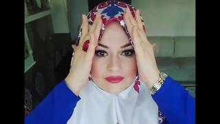 Turkish Hijab Style Tutorial 2017 - Part 1