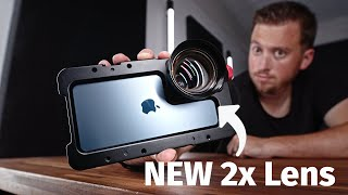 Why this 2x Telephoto Lens Is Better Than The Built In Camera!