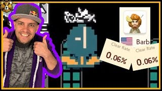 Two 0.06% Clear Rate Levels? Easy! Super Mario Maker 2