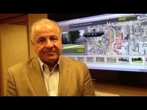 Developer Gene D'Agostini applauds new #MacombCounty web portal marketing prime industrial propertie