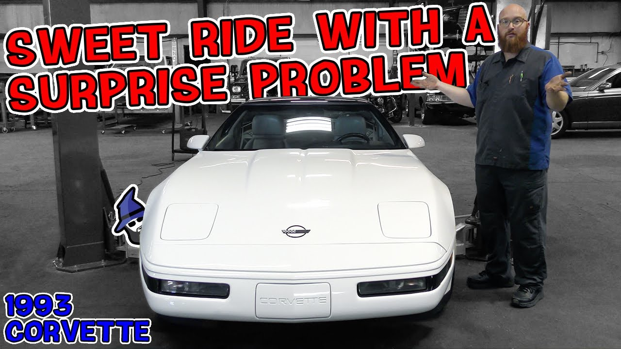 '93 Vette came into the shop for one problem & the CAR WIZARD found another much more serious one!