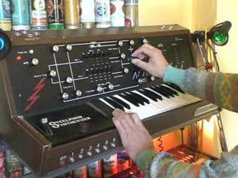 Steelphon S900 synthesizer demo1