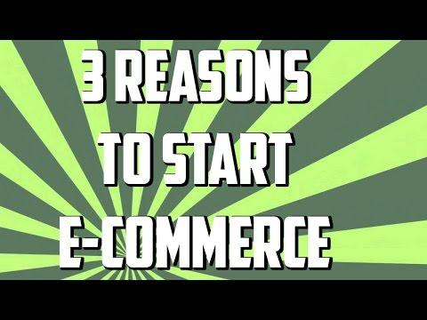 3 Reasons to Open an E-Commerce Store in 2015