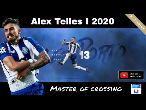 Alex Telles ▪ This Is Why The Brazilian Is In DEMAND ▪ Master Of Assists/Crosses 2020 HD