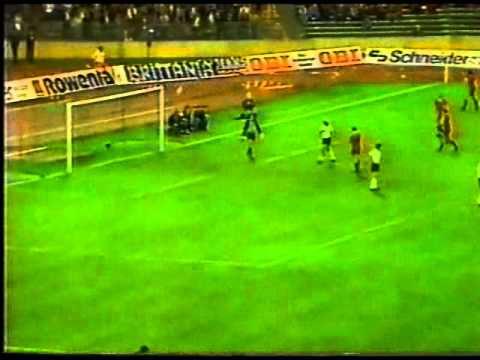 Germany v Belgium 22nd  SEP 1982