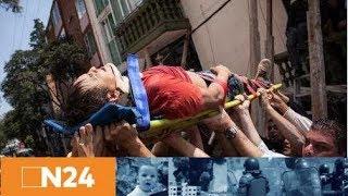Verzweifelte Eltern in Mexiko: Schule bei Erdbeben eingestürzt - viele Kinder unter den Trümmern