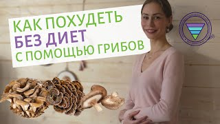 Как похудеть без диет с помощью грибов | Фунготерапия