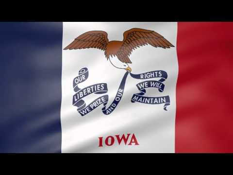 Iowa state song (official anthem)