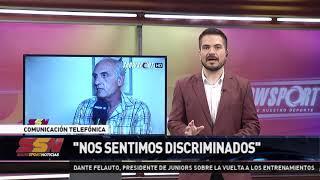 DANTE FELAUTO   PTE DE GRAL PAZ JUNIORS   SS NOTICIAS 06 10 2020