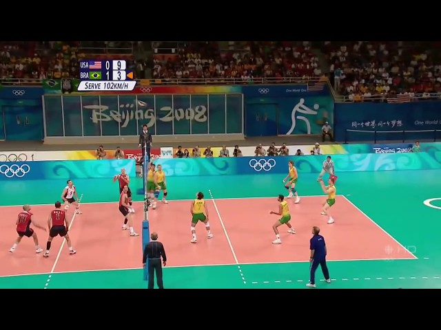 (HD) 2008 Olympic Volleyball Highlights Travel Video