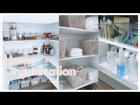 HOME ORGANISATION   Tips & tricks, kmart & ikea storage solutions