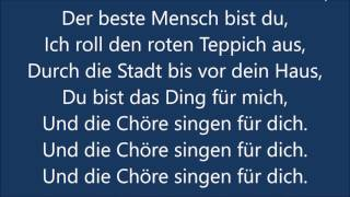 Mark Forster - Chöre (Lyrics)