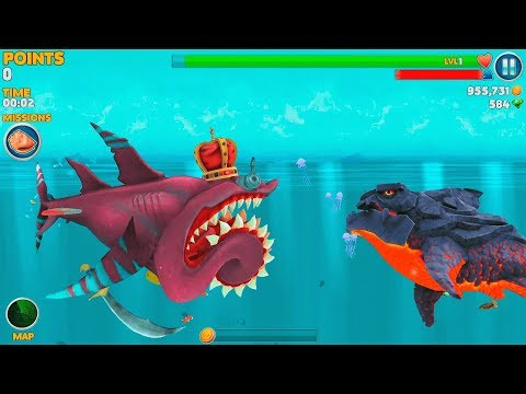 Hungry Shark Evolution Pyro Shark Android Gameplay #41