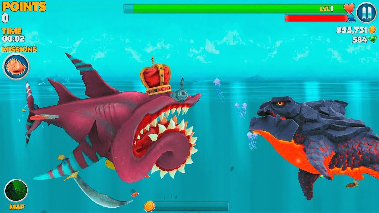 hungry shark evolution gioco da