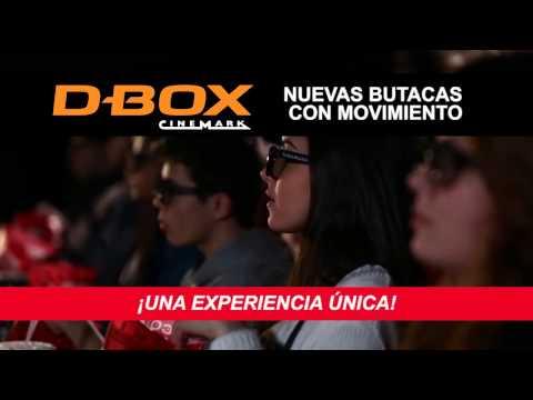 Nuevas butacas D-BOX en Cinemark