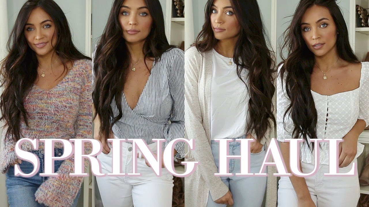 [VIDEO] - SPRING CLOTHING HAUL ? (+ MY FAV AFFORDABLE DENIM!) | Stephanie Ledda 7