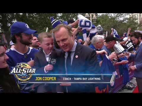 2018 NHL All Star Red Carpet - Part 2