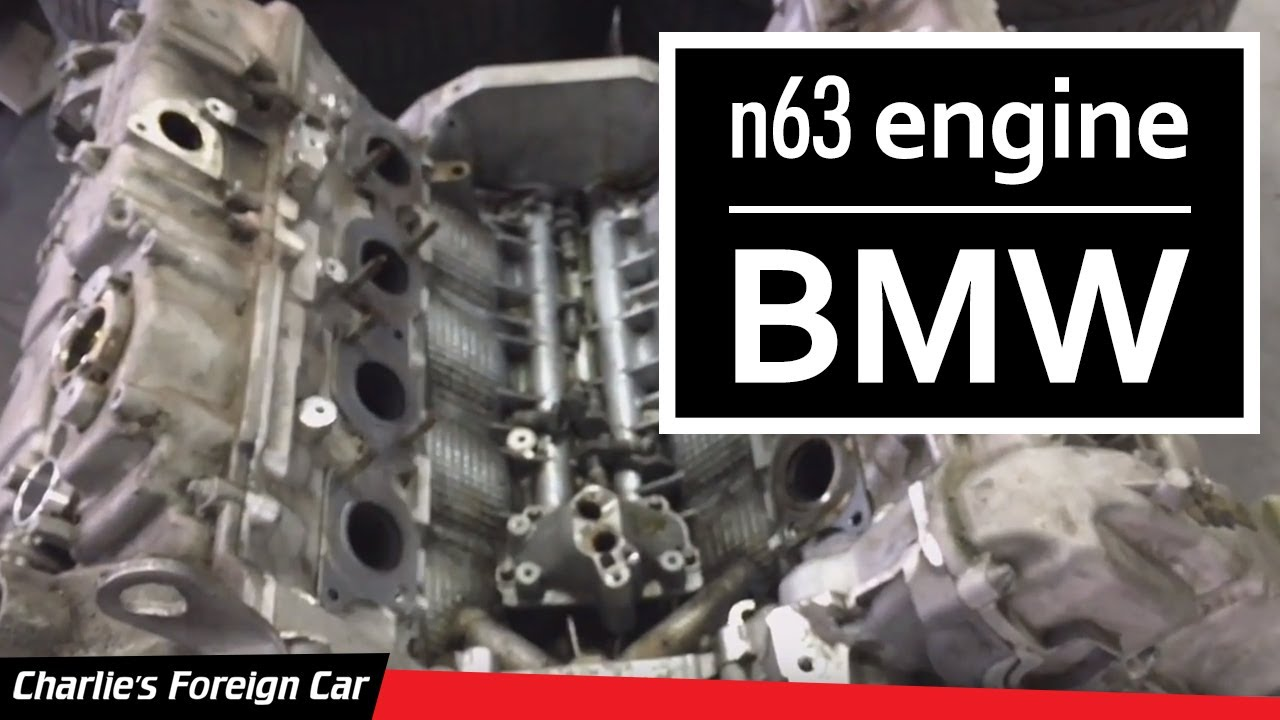 BMW  N63 Twin-Turbo V8 Engine