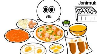 Mukbang Seafood Paella 먹방 해산물 …