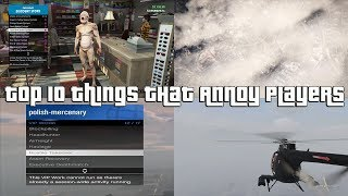 GTA Online Top 10 Things That Annoy Players