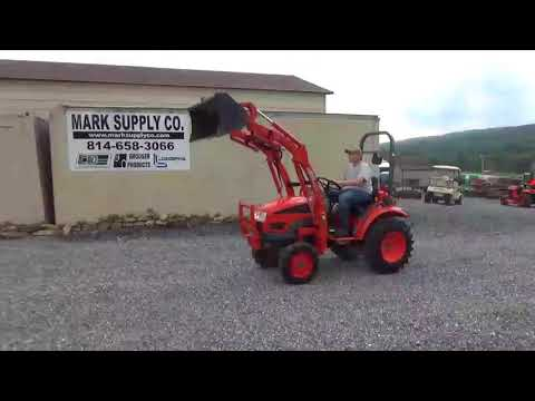 2008 Kioti CK20S Compact Tractor With Loader 3 Point Hitch