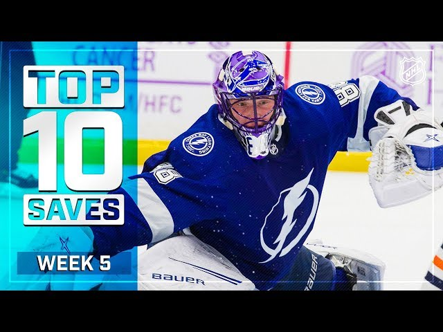 Top 10 Saves from Week 5
