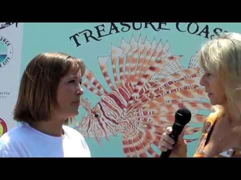 "T.V show ""Treasures of Fort Pierce"" . Treasure Coast 4th Annual Lionfish Safari"