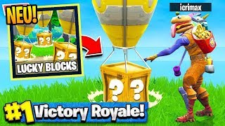 *NEU* LUCKY BLOCKS BATTLE in FORTNITE !