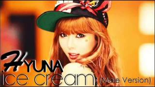 HyunA - Ice Cream  [Male Version MP3+DL]
