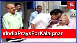 5ive Live From Chennai: Karunanidhi To Stay On In Hospital Indefinitely