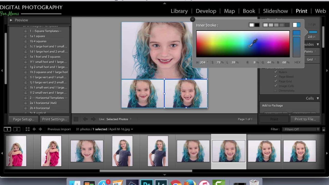 Install And Use Lightroom Templates For Instagram YouTube - Lightroom templates
