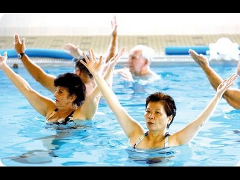 COMPLETE 1 HOUR WATER AEROBIC WORKOUT