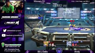 SG at GU 6.9: BS Dello (Fox, Marth) vs Andy (Wolf)