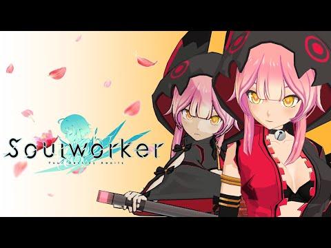Soul Worker's NEW Cat Girl (Katana Class)