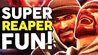 Overwatch - New BUFFED Reaper is Super Fun! But is he BROKEN?!