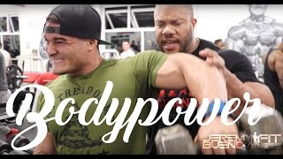 Jeremy Buendia at BODYPOWER EXPO 2016 in UK