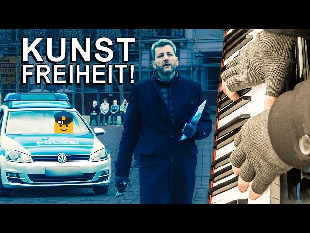🎹  EKLAT bei KUNST-BEFREIUNGSAKTION in Dresden! 😲